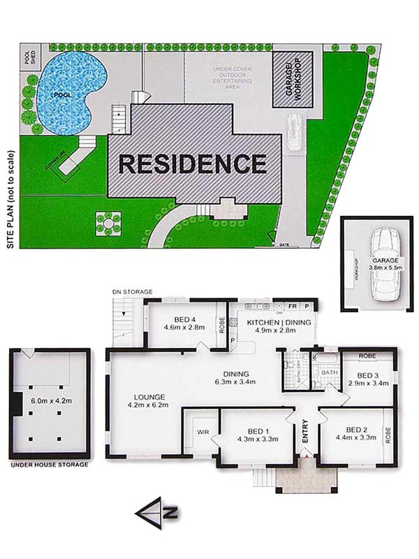 Floor plans reef imaging for Floor plans for real estate marketing